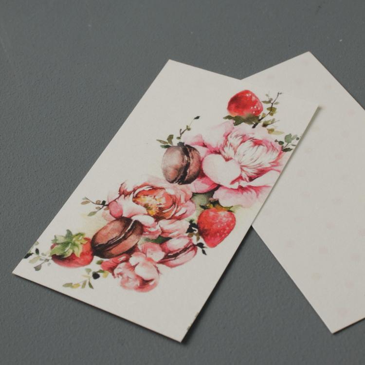 открытки для букетов размеры